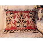 "20"" Beautiful French Country Vintage Retro Wool Decorative Needlepoint Pillow"