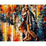 Abstract Painting YOUNG LOVERS #1