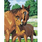 The horse mother