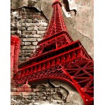 Red Eiffel Tower Beautiful