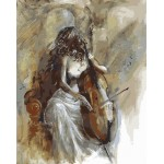 Beauty Playing Cello