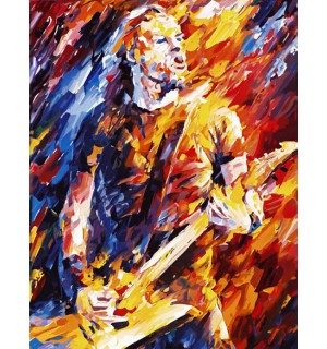 Super Popstar Abstract Design Tapestry Needlepoint Canvas