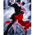 Man & Lady ballroom dancing