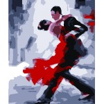 Gentleman & Lady ballroom dancing