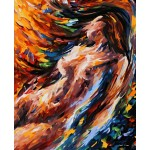 Abstract Painting Design Nude