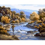 Fishing In Autumn