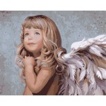 Cherub Girl Portrait