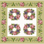 Floral Garland needlepoint kits