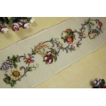 Needlepoint Canvas - Fruits & Flowers
