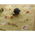 Playing Card Table Cover Horse Rider