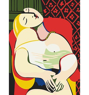Picasso The Dream Needlepoint Canvas