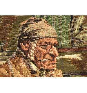 Needlepoint Tramme Canvas The Professor