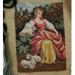 Beautiful Tramme Tapestry Kits Girm Lamb