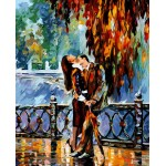 Lovers Needlepoint Canvas