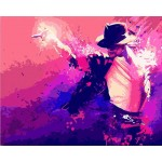 Michael Jackson Needlepoint Canvas