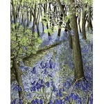 Forest With Blue Flowers Gobelin