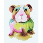 Cute Colorful Hamster