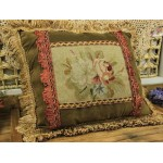 Vintage Design Decorative Sofa Chair Needlepoint Pillow
