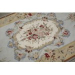 3' X 5' European Vintage Style Needlepoint Area Rug Carpet Aubusson Design