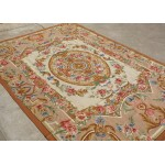Needlepoint Carpet Amazing Piece Work of Art Aubusson Design