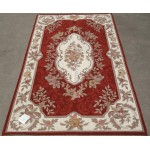 3' X 5' Woolen Handmade Beautiful Needlepoint Area Rug French Classic Design