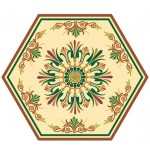 Hexagonal Decorative Pattern