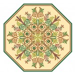 Octagonal Decorative Pattern
